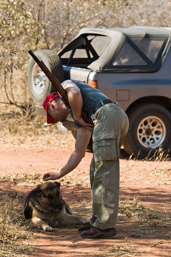 hunter psa obraz stock