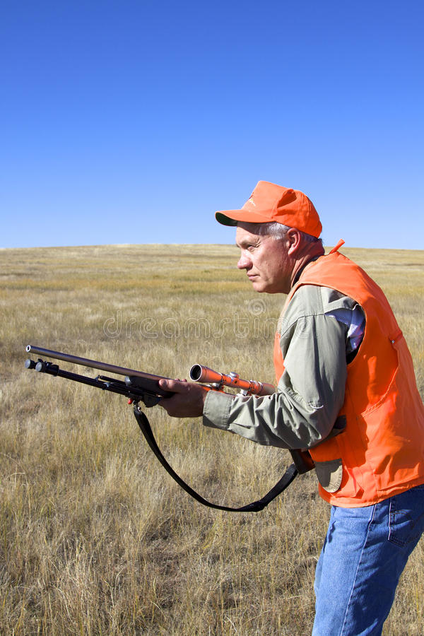 Download Hunter at Ready stock image. Image of ready, hunt, outdoors - 18784161