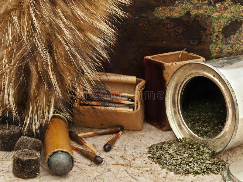 Download Hunting stock photo. Image of retro, copper, antique - 12238104