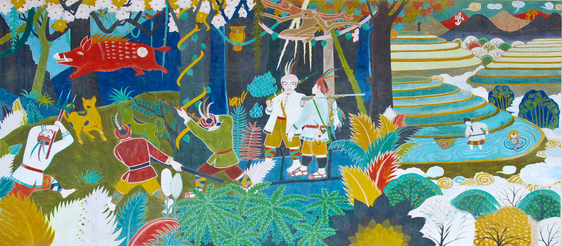 Hunting. Illustration of ancient hunting scenes vector illustration
