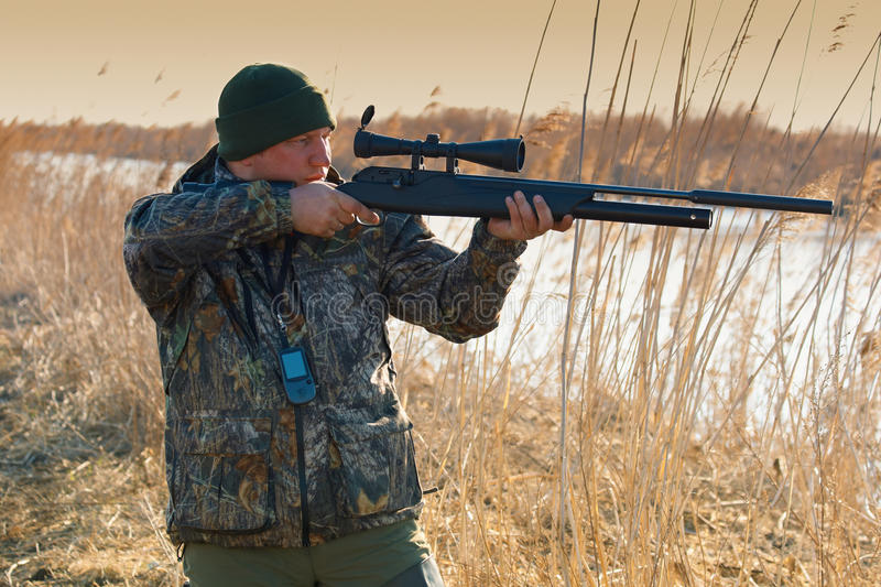 On The Hunting Stock Photo