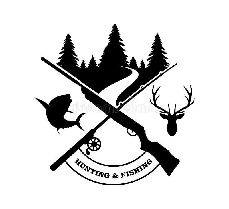 hunting vector illustratie