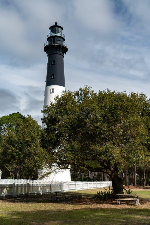 Free Hunting Island Lighthouse Near Beaufort, SC Royalty Free Stock Photo - 146040915