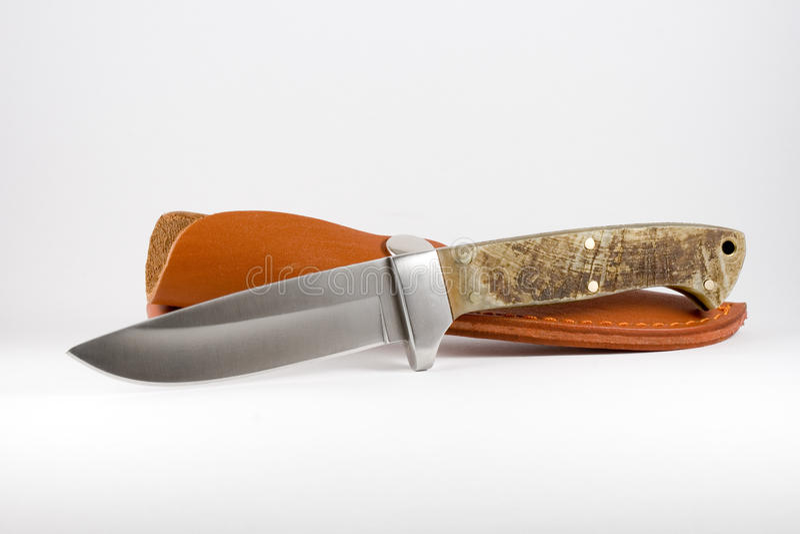 Download Hunting knife stock photo. Image of plain, metal, polish - 22289982