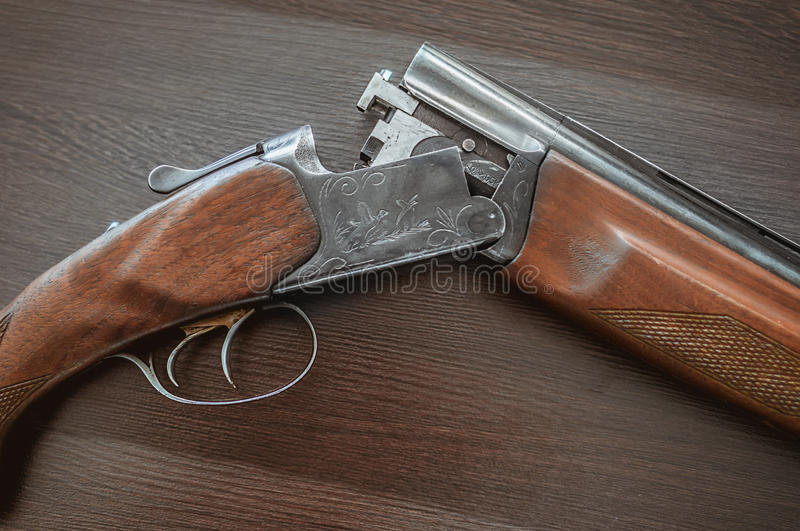 Hunting rifle royalty free stock images