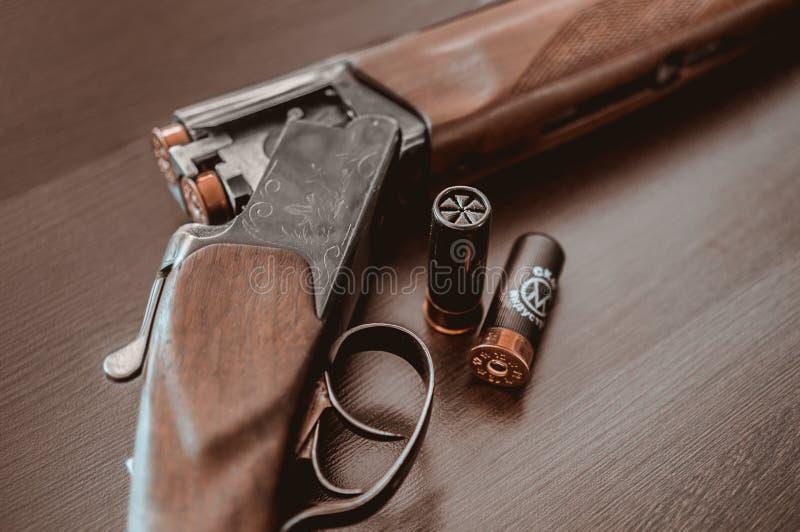 Hunting rifle stock photos