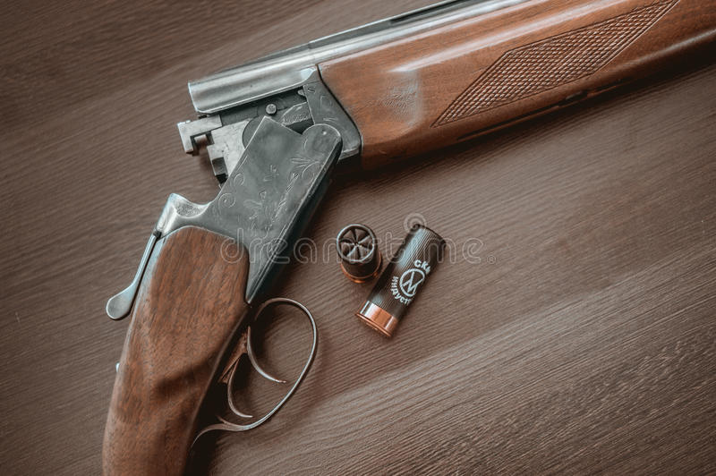 Hunting rifle royalty free stock photography