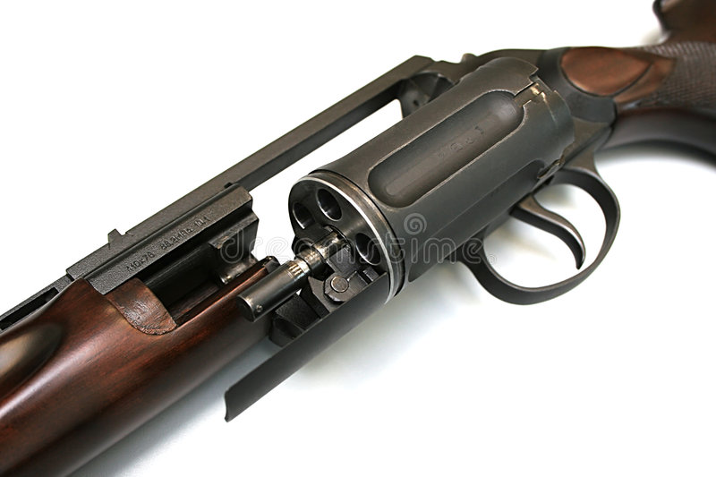 Hunting weapon stock photo