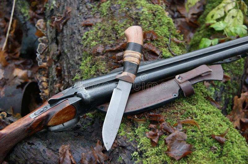Hunting weapon royalty free stock photos