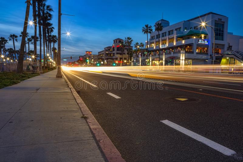 Huntington Beach, la Californie photos stock