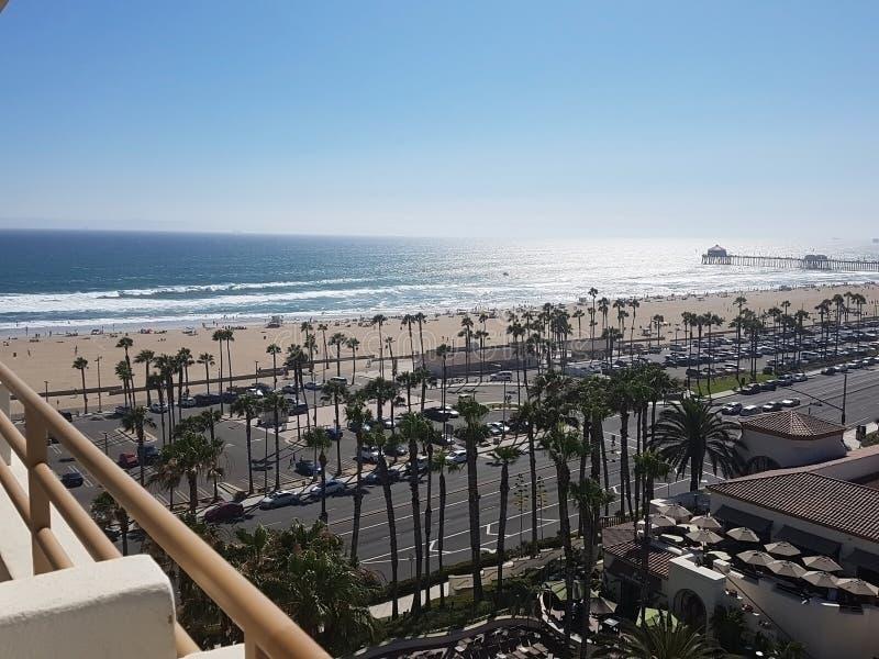 Huntington Beach, Los Angeles photo libre de droits