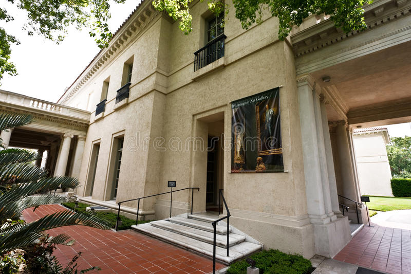 Huntington Gallery Entrance royalty free stock images
