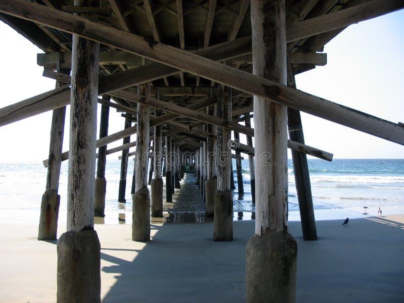 Huntington-Pier lizenzfreies stockfoto