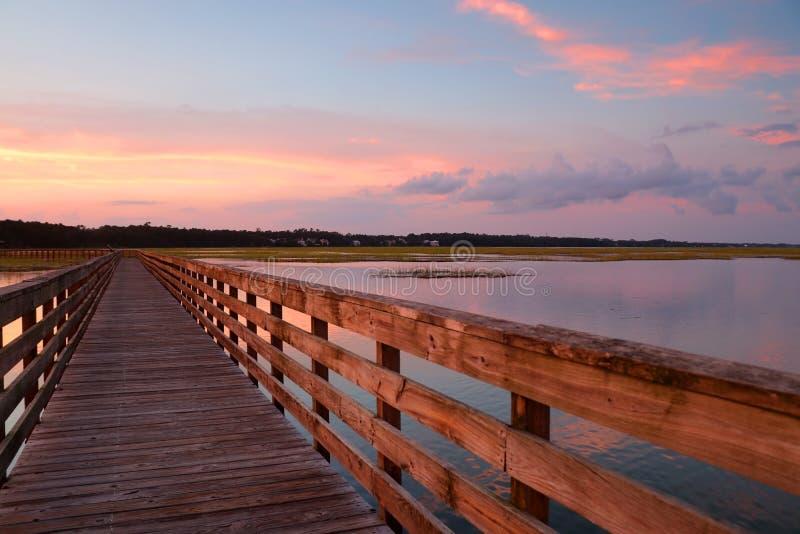 Huntington plaży stanu parka krajobraz fotografia stock