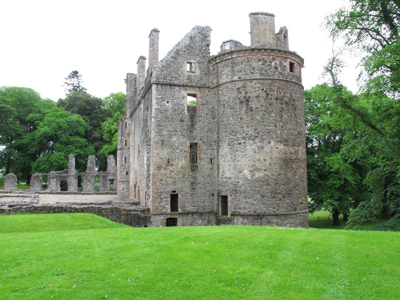 Huntly城堡,阿伯丁郡,苏格兰英国 免版税图库摄影