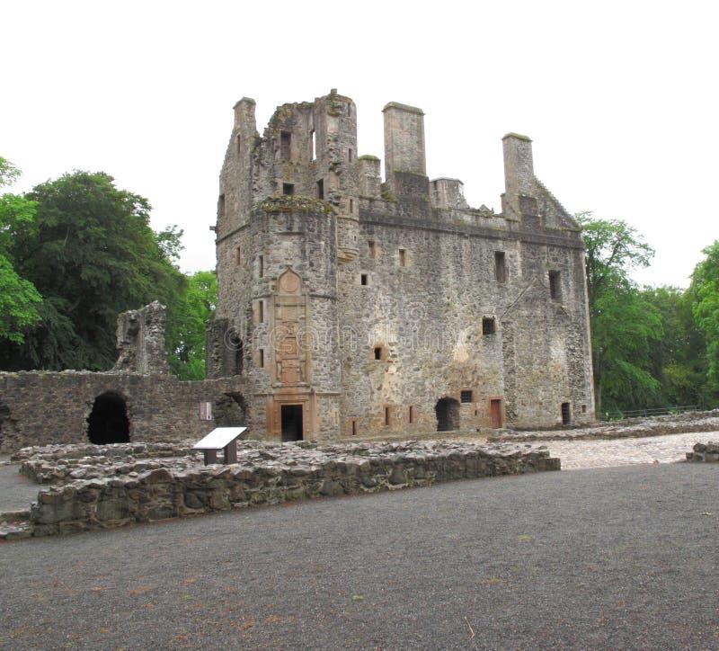 Huntly城堡,阿伯丁郡,苏格兰英国 免版税库存照片