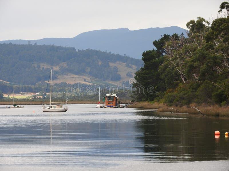 Huon Valley Tasmanien arkivfoto