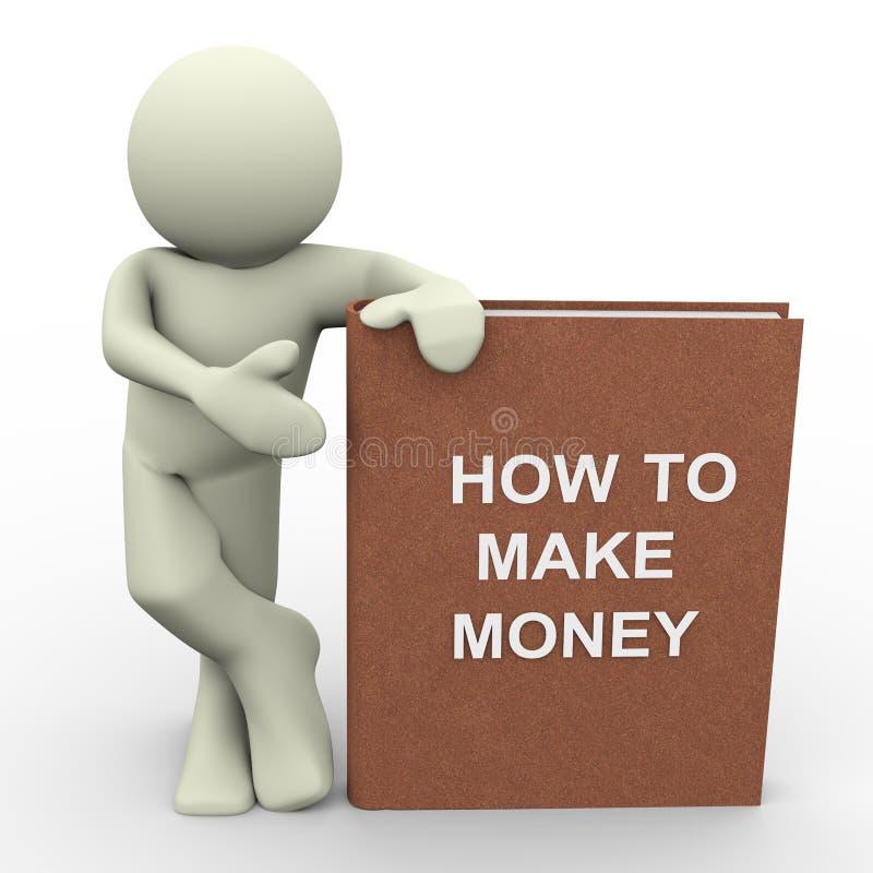hur gör pengar till, royaltyfri illustrationer