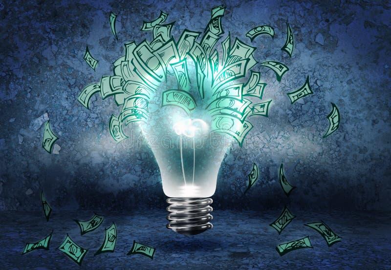 Hur man tjänar pengar? royaltyfri illustrationer