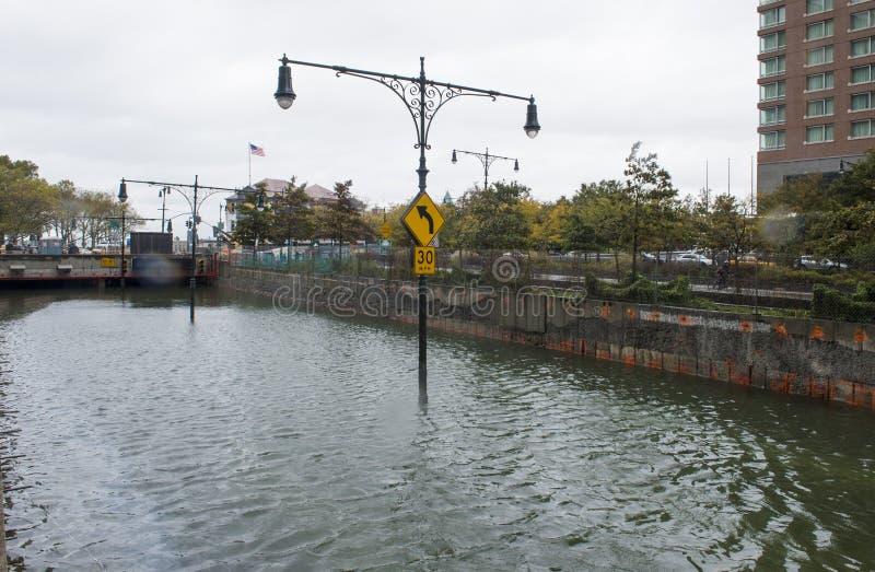 Huracán Sandy imagenes de archivo
