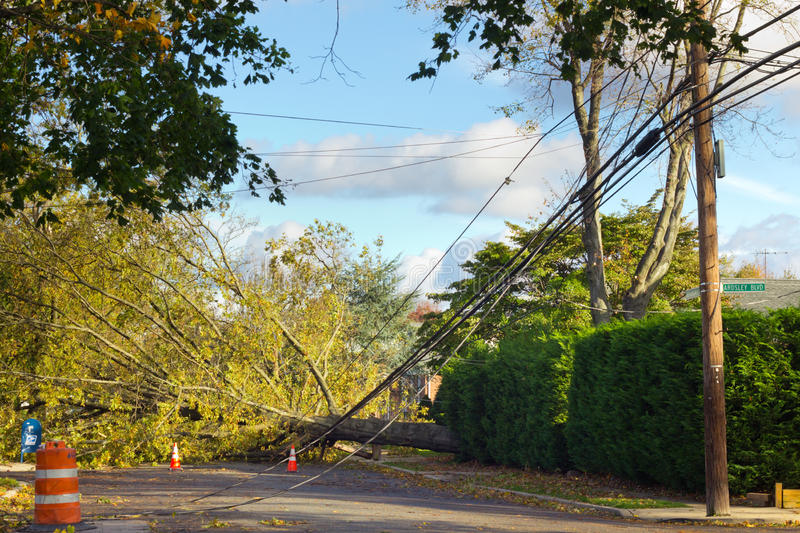 Huracán Sandy imagen de archivo