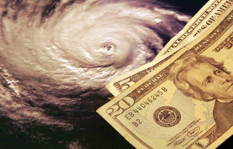 huragany wysokich kosztów zdjęcie royalty free