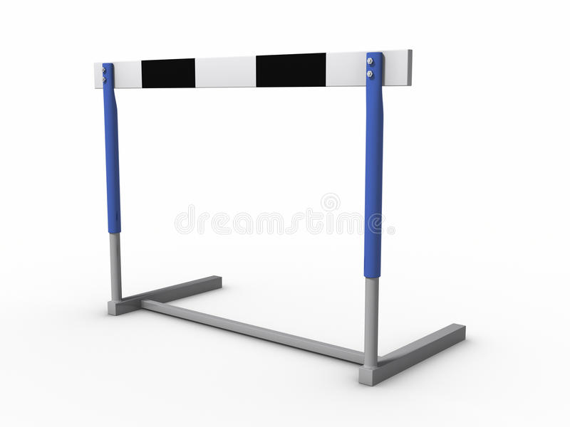 Download Hurdle stock illustration. Illustration of isolated, challenge - 19708618
