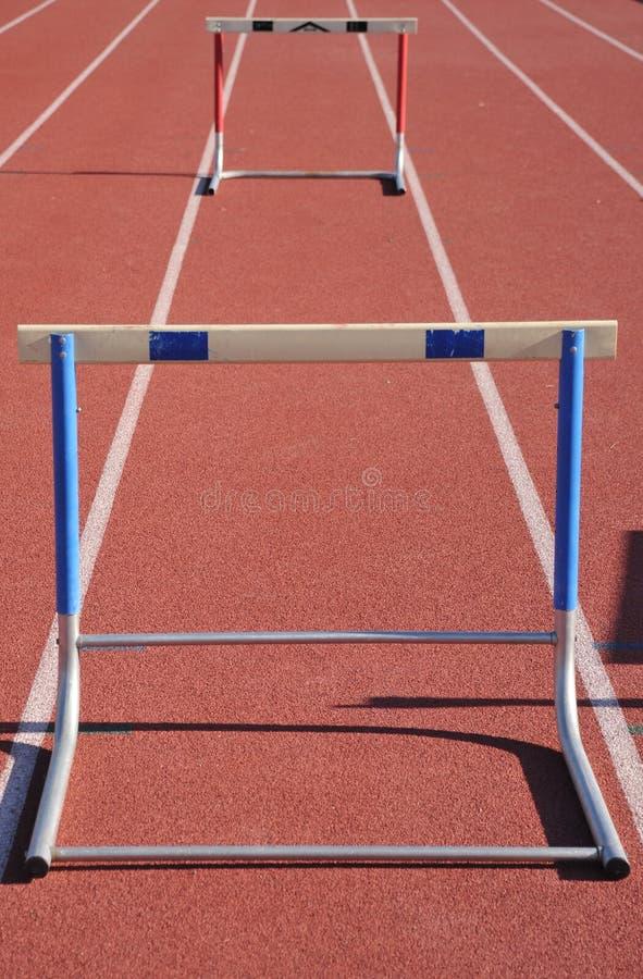 Hurdle stock image
