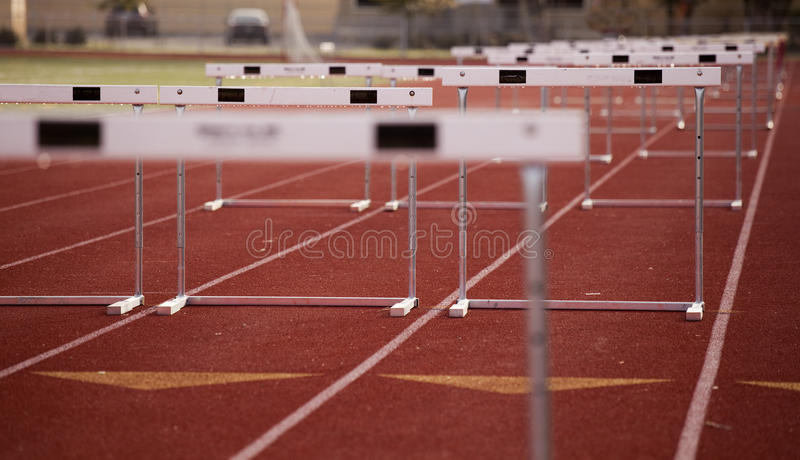 Download Hurdles Angle stock photo. Image of lanes, competition - 11435218