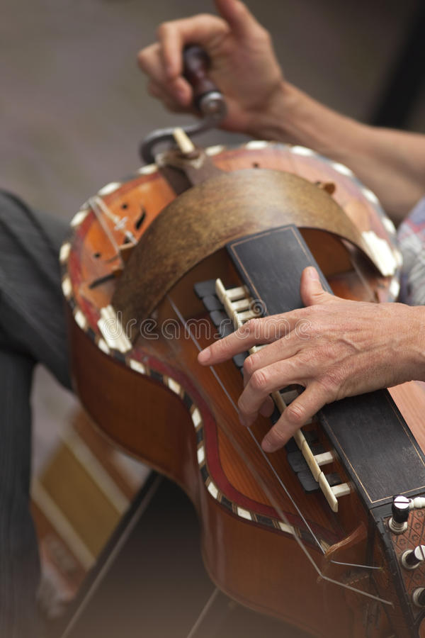 Download Hurdy-gurdy stock image. Image of playing, traditional - 23442257