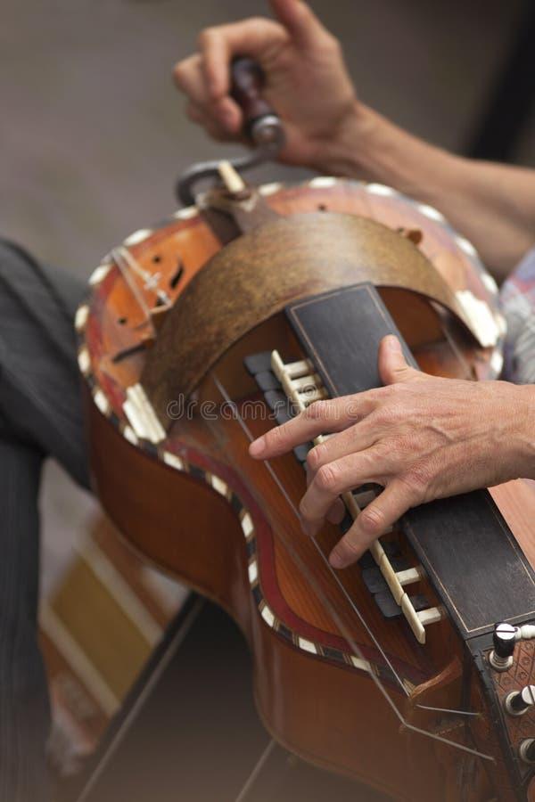 Hurdy-gurdy royalty free stock photography