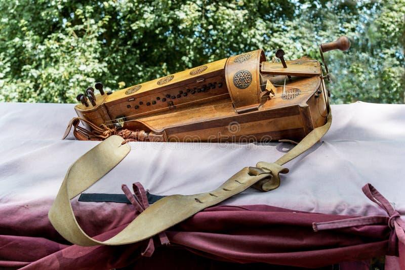 Hurdy-gurdy obrazy stock