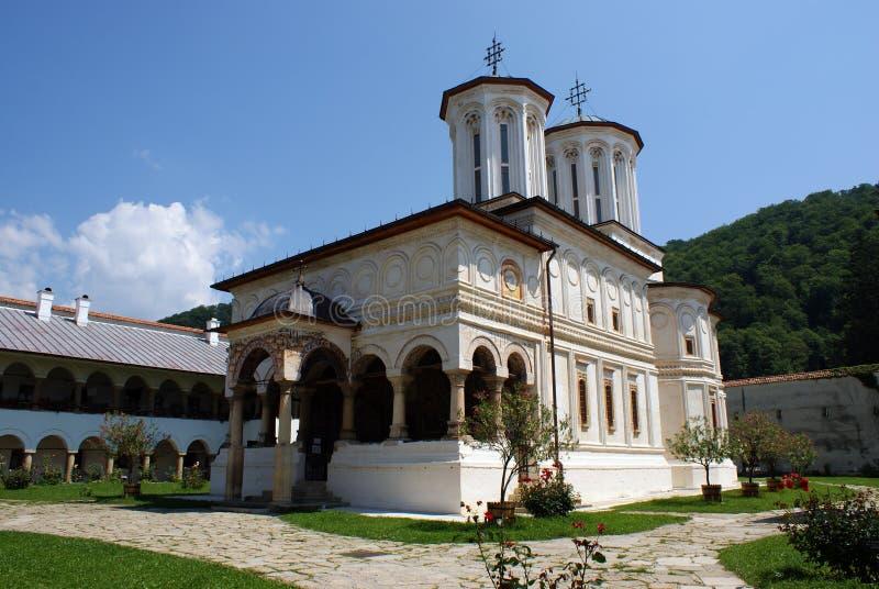 Hurezi kloster royaltyfri bild