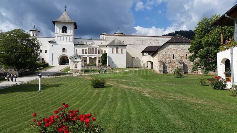 Hurezi-Kloster stockbild