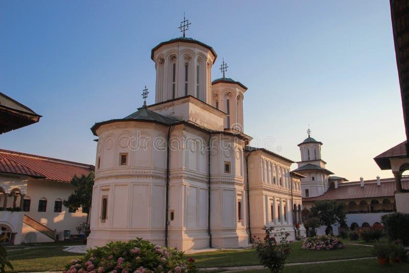 Hurezi Monastery. The main church at Hurezi or Horezu monastery, Gorj county, Romania stock photos