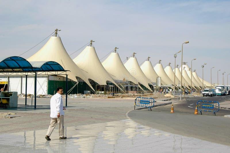Hurghada lotnisko międzynarodowe obraz stock