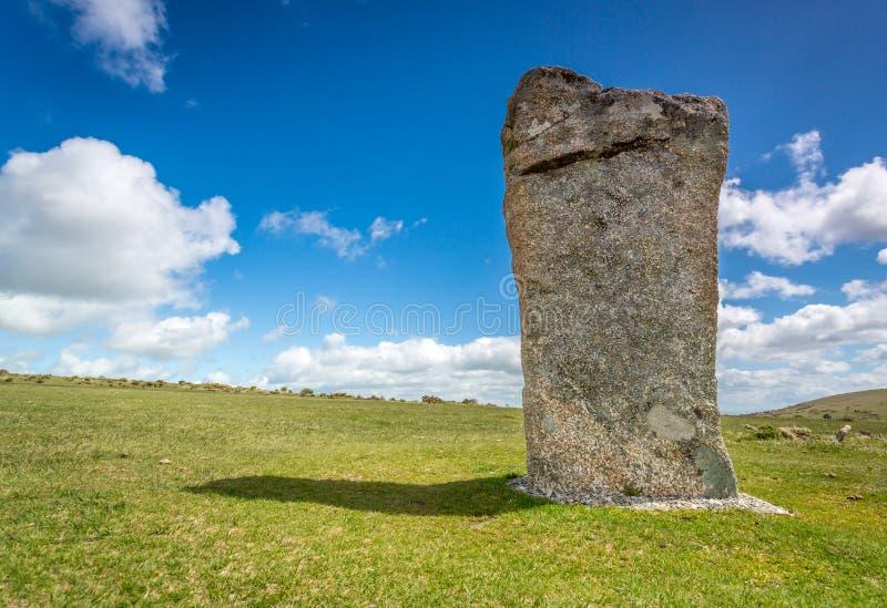 Hurlers na bodmin cumują w Cornwall Anglia UK obraz stock