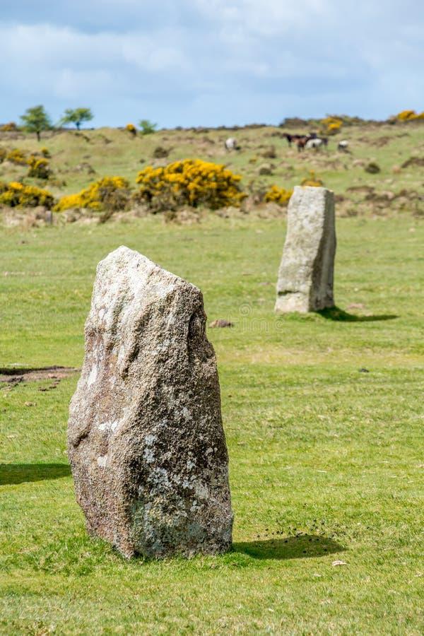 Download Hurlers Op Bodmin Legt In Cornwall Engeland Het UK Vast Stock Afbeelding - Afbeelding bestaande uit outdoors, d0: 54090823