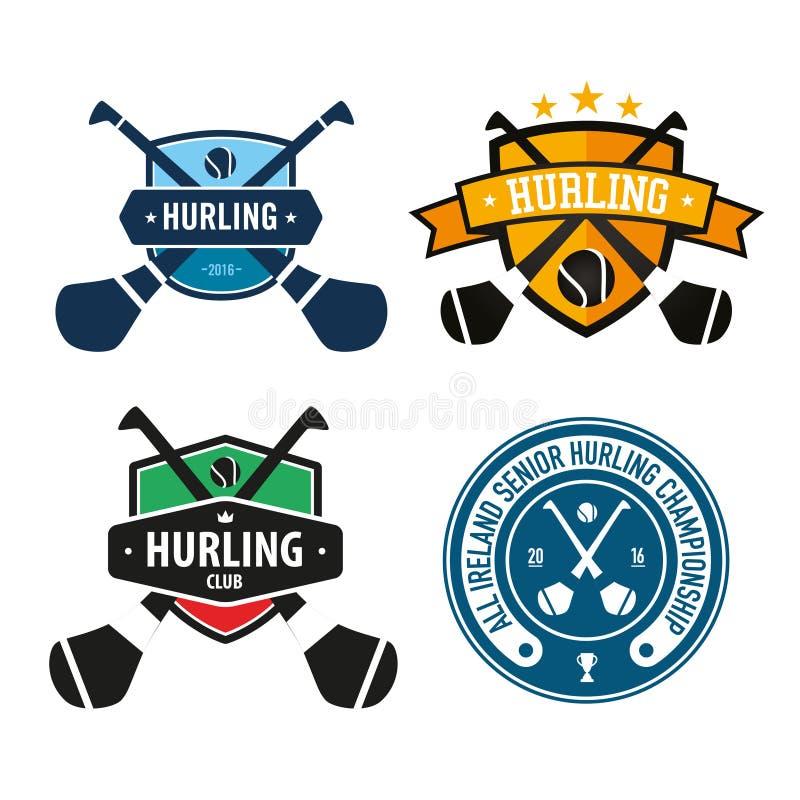 Free Hurling Emblems Stock Image - 76197051