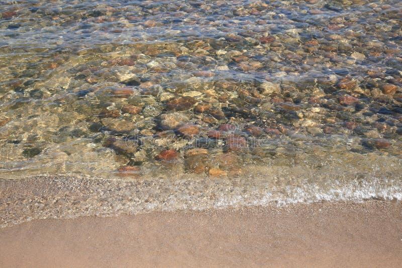 huron lakeseashore arkivfoto
