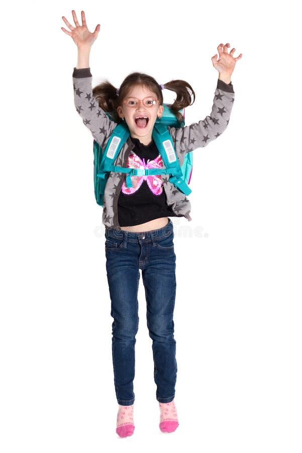 Hurrah terug naar school stock foto's