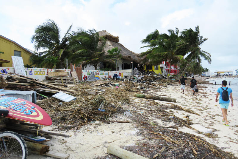Hurrican w San Pedro obraz royalty free