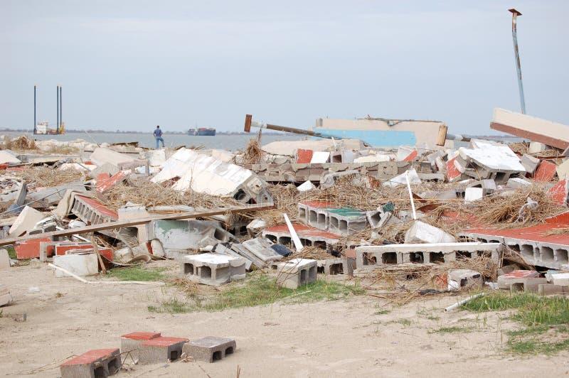Hurricane Damage royalty free stock image