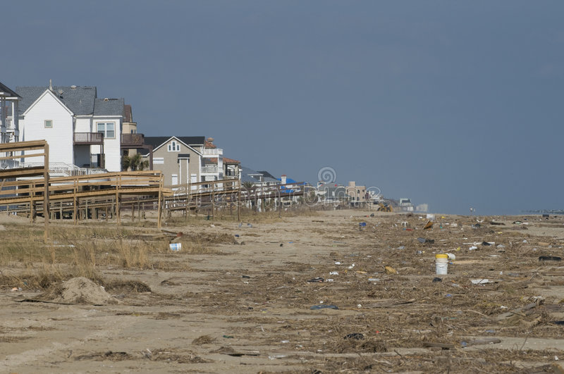 Hurricane Ike Aftermath royalty free stock photography