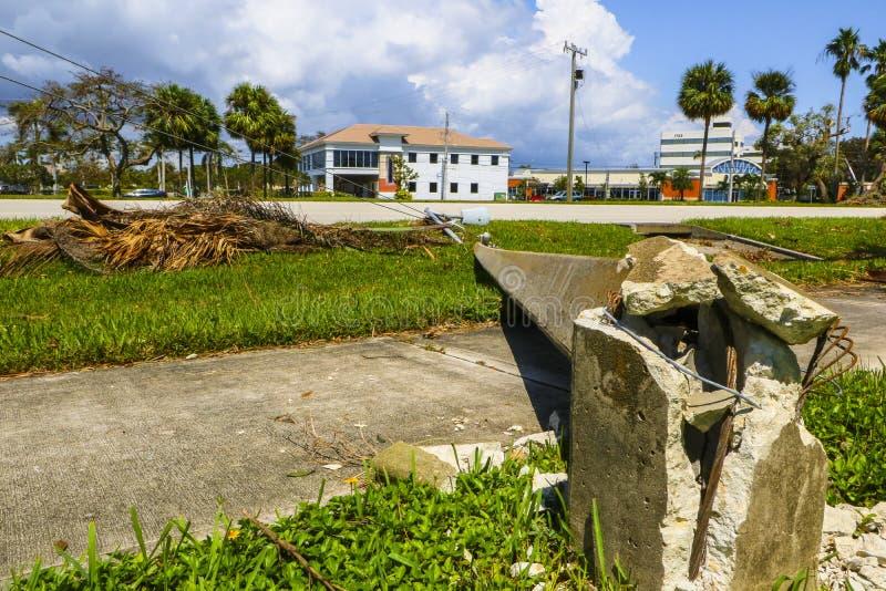 Hurricane Irma Damage stock photos