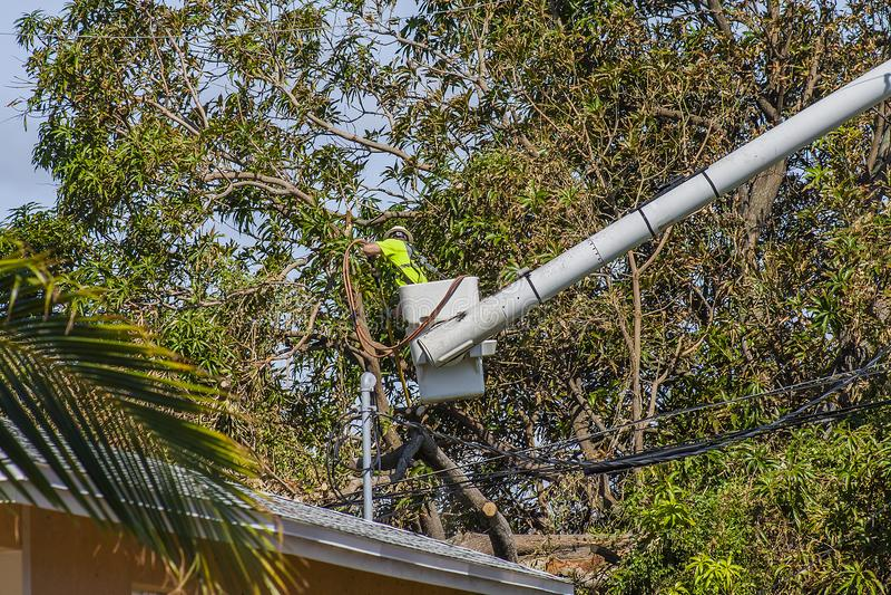 Hurricane Irma Damage royalty free stock photos