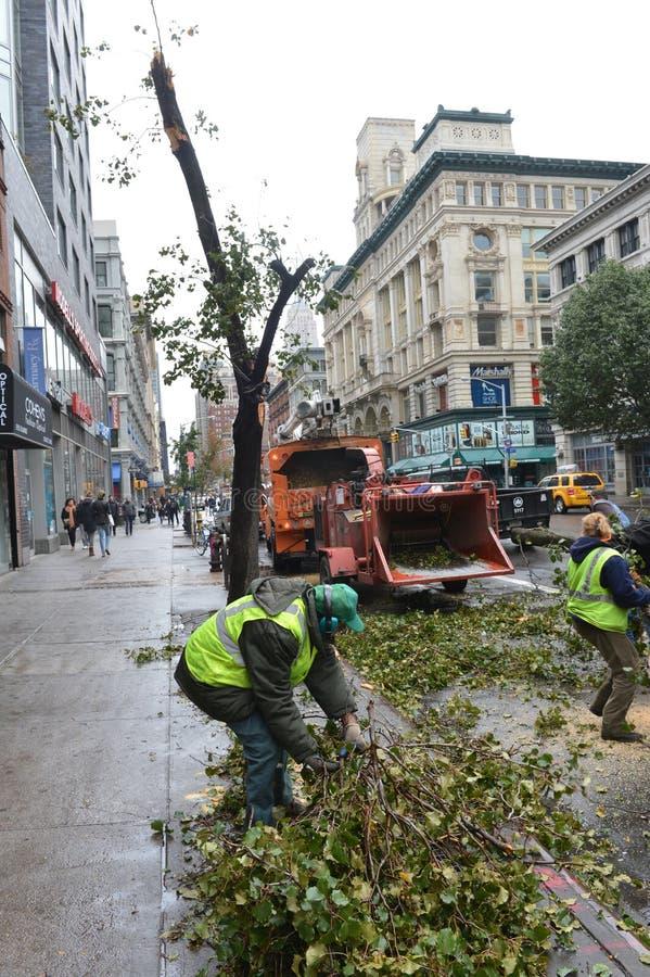 Hurricane Sandy Editorial Stock Photo