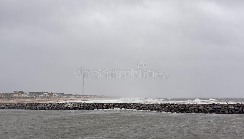 Download Hurricane Sandy Approaches New Jersey Shore Stock Photo - Image: 27740842