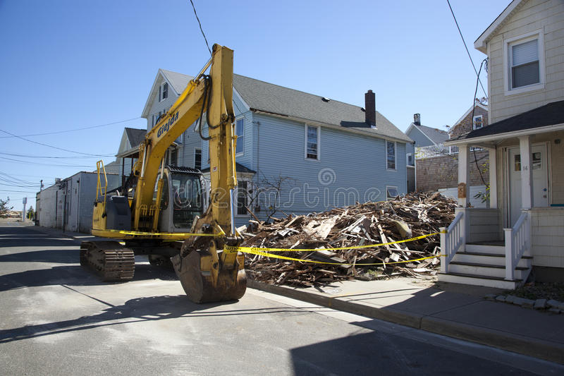Download Hurricane Sandy - 1 Year Later Sea Bright Editorial Image - Image: 34433910