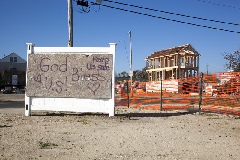 Download Hurricane Sandy - 1 Year Later Union Beach Editorial Photography - Image: 34433877